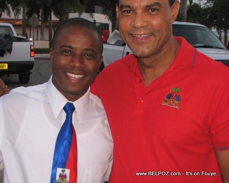 N Miami Mayor Andre Pierre Rudolph Moise - Haitian Flag Day