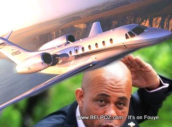 President Michel Martelly - Private Jet