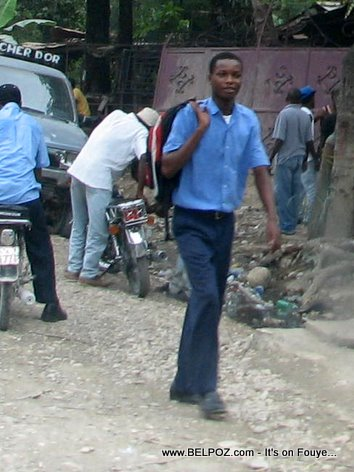 Haitian Students