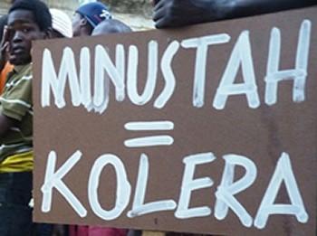 Minustah = Kolera
