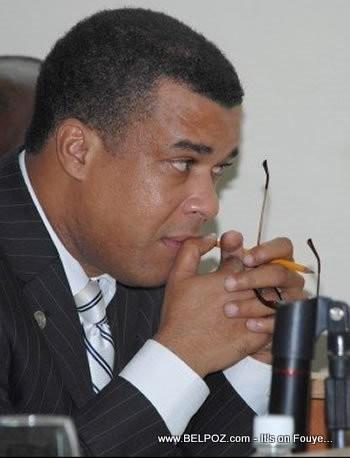 Haiti Senator Steven Benoit