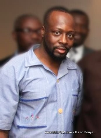 Wyclef Wearing A Traditional Haitian Shirt