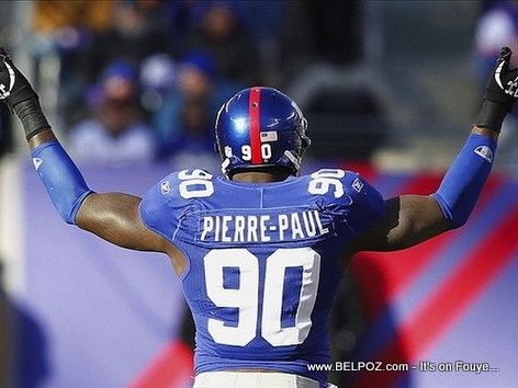 NFL Jason Pierre-Paul Haitian American Football Player