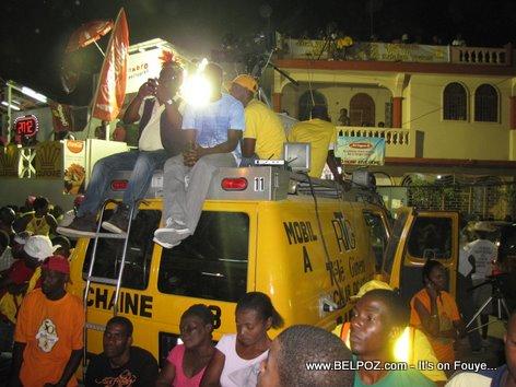 Radio Tele Guinen Mobile Unit - Carnaval 2012, Les Cayes Haiti