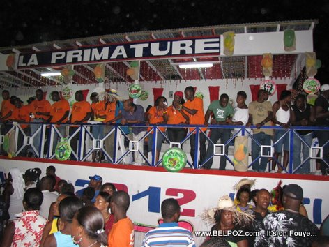 Stand La Primature - Haiti Carnaval 2012, Les Cayes Haiti - Photo