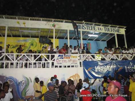 Stand Ministere du Tourisme - Carnaval National 2012, Les Cayes Haiti - Photo