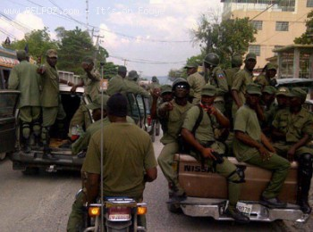 Haiti Armed Gunmen or Haitian Army?
