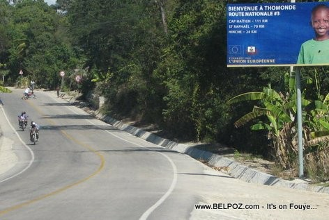 Haiti's National Road 3 - Welcome to Thomonde