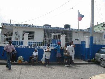 Haitian Police Station