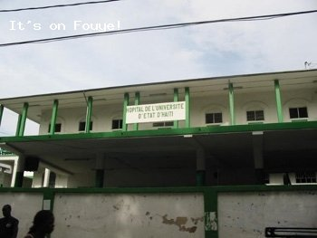 Hopital de L'universite D'etat D'Haiti