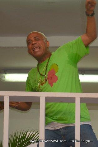 President Martelly at Carnaval Des Fleurs Haiti