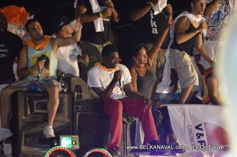 J Perry, Black Alex, Team Lobey - Haiti Carnaval Des Fleurs 2012