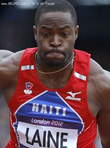 Samyr Laine - London 2012 Summer Olympics