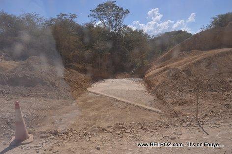 Haiti Road Construction - Hinche To Cap Haitien