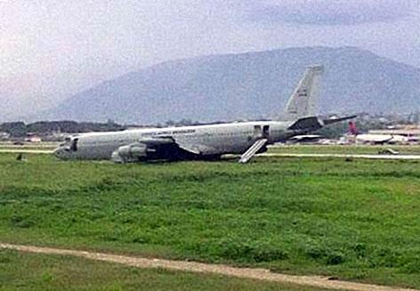 Brazilian Military Plane Crash at Haiti International Airport
