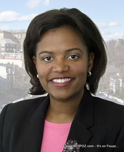 Linda Dorcena Forry - Haitian-American Senator in Massachusetts