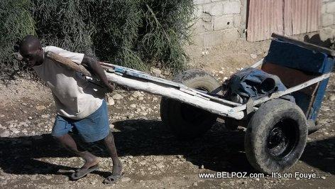 A BOURETYE and his BOURET in Haiti