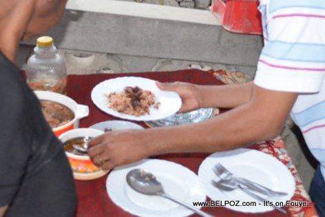 Dinner on the Table - Thomassique Haiti