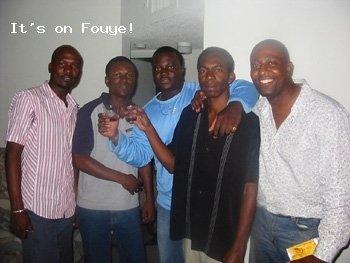Jacques Louis, Stanley Pierre, Max Marcellus, Mora Etienne, Ronald Azor