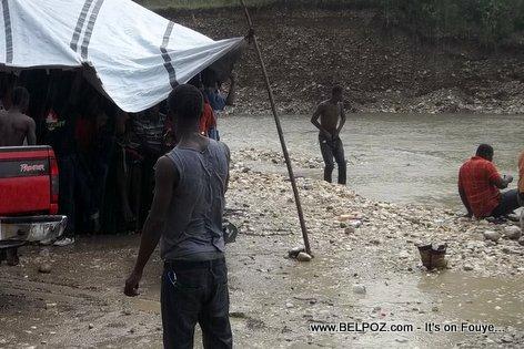Haiti River Party - Riviere Hinquitte, Hinche Haiti