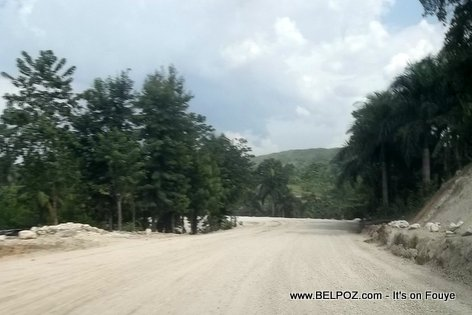 Haiti Road Construction - Lascahobas to Belladere