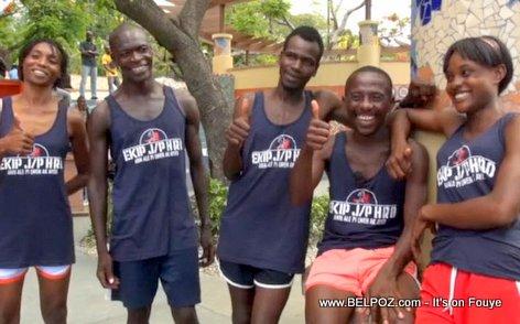 Haitian NYC Marathon Runners