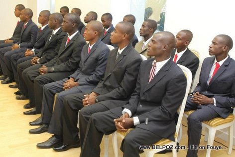 New Haitian Military - First 30 Recruits