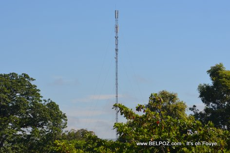 Digicel Antenna - Lotbo pon, Hinche Haiti