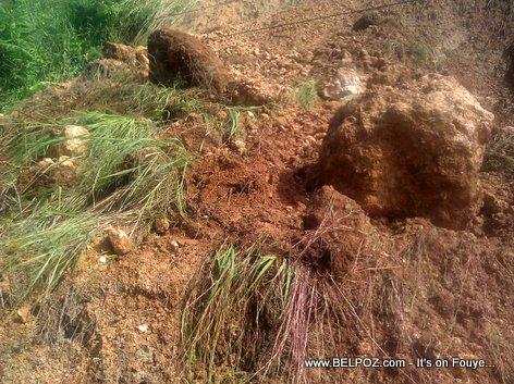 Mudslide in Haiti - Route Nationale 3 - Peligre