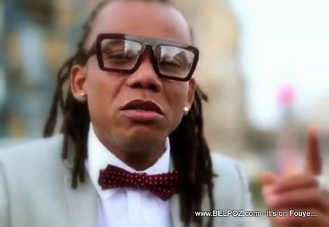 Reginald Cange in Zenglen Rezilta Music Video