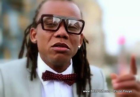 Reginald Cange in Zenglen Rezilta Music Video
