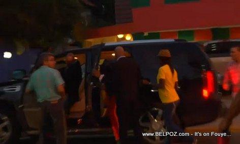 Palito De Coco Getting in his Big SUV