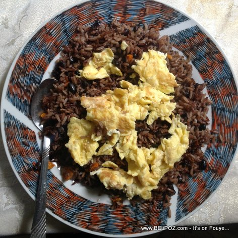 YESTERDAY - What Haitians in the Diaspora call leftover food