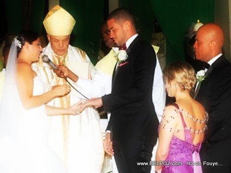 Mariage Michel Olivier Martelly & Bianka Joseph