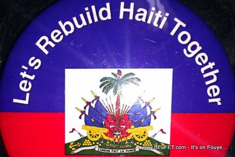 Let's Rebuild Haiti Together