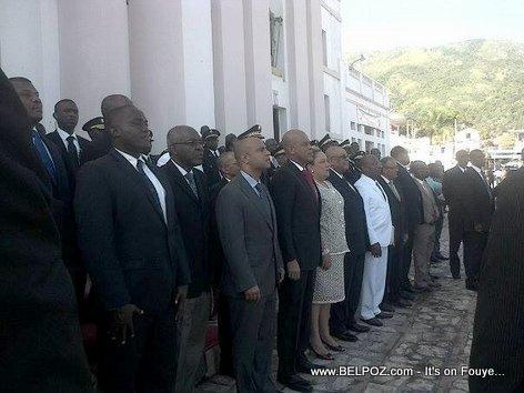 President Martelly in Cap Haitien 18 Novenbre 2013