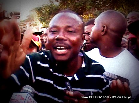 Moise Jean Charles, Senateur de la Republique d'Haiti