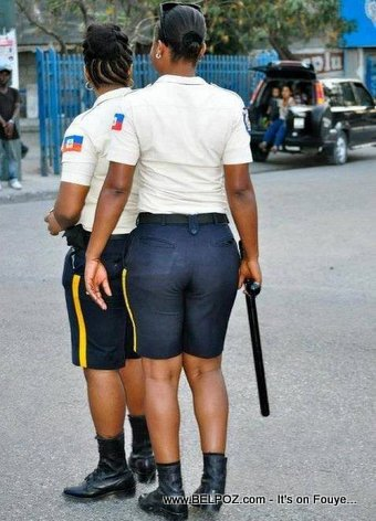 Men Police Peyi a Wi LOL... Haiti Police Women