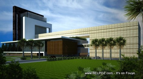 New Planned Haiti Parliament Building in Port-au-Prince