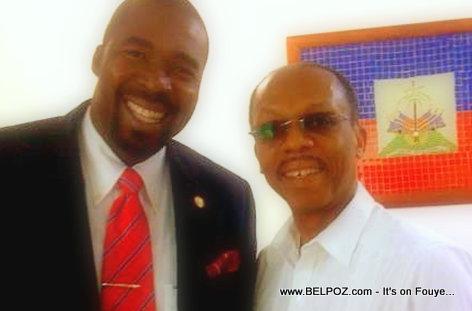 Arnel Belizaire & Jean Bertrand Aristide