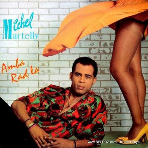 Michel Martelly - Anba Rad La - Album Cover