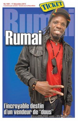 Palito de Coco on the cover of Ticket Magazine