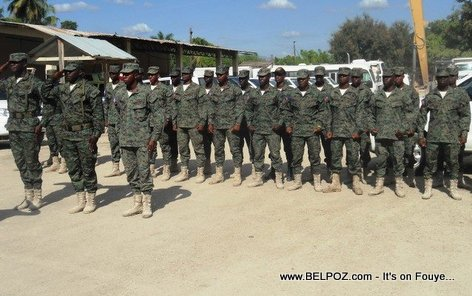 The New Haitian Army - La Nouvelle Armee Haitienne