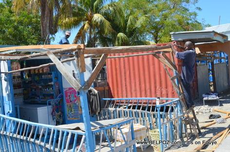 Gonaives Haiti - Ti Biznis yo ap prepare pou kanaval 2014 la