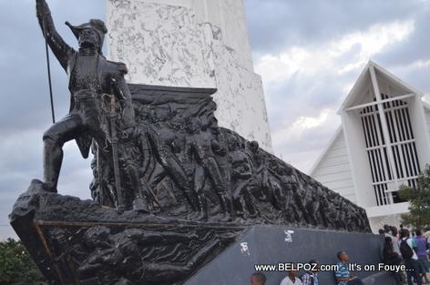 Dessalines Monument - Place d 'Armes, Gonaives Haiti
