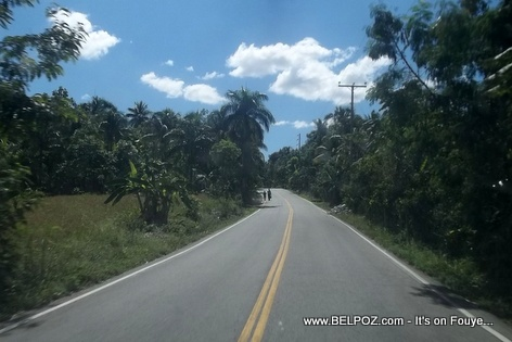 Route Saut d'Eau Haiti - The Road to Saut d'Eau