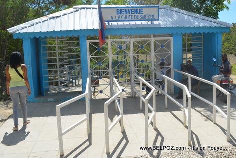 Chute Saut d'Eau Haiti - Entree / Entrance