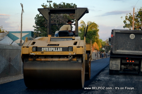 Gonaives Haiti - Newly Paved Road - Avenue Leon Legros
