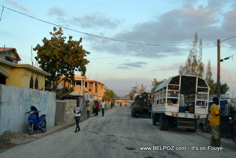 Gonaives Haiti - Newly Paved Road - Avenue Leon Legros