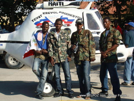 First Helicopter Made in Haiti